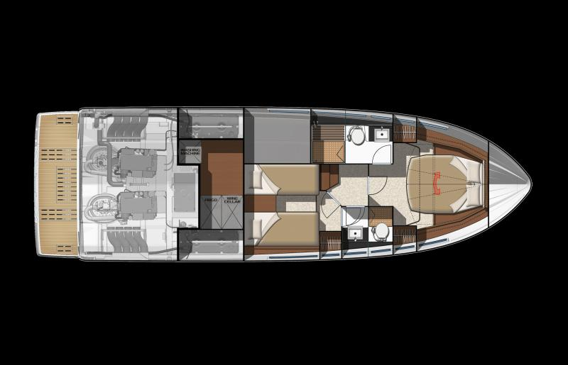 NC 14 │ NC of 14m │ Boat powerboat Jeanneau barco plans 636