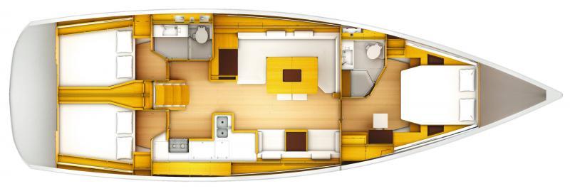 Sun Odyssey 519 │ Sun Odyssey of 16m │ Boat Sailboat Jeanneau  19822
