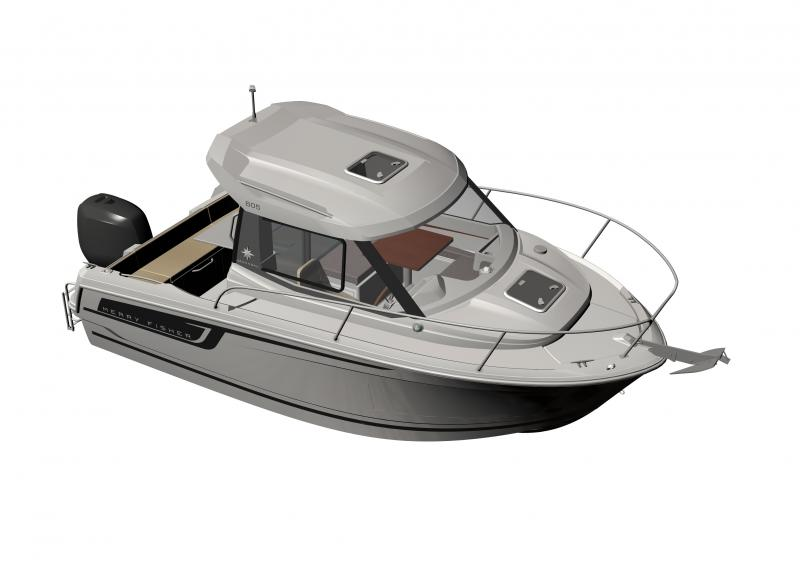 Merry Fisher 605 │ Merry Fisher of 6m │ Boat Outboard Jeanneau boat plans 1084
