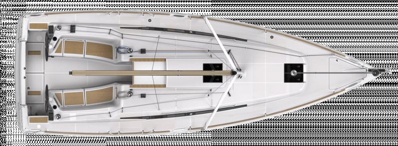 Sun Odyssey 349 │ Sun Odyssey de 10m │ Bateaux Voiliers Jeanneau  19207