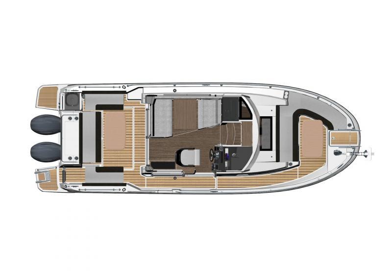 NC 895 Sport │ NC Sport of 9m │ Boat Outboard Jeanneau  18976