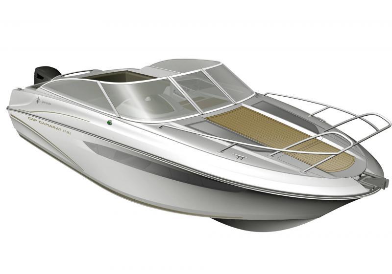 Cap Camarat 7.5 DC │ Cap Camarat Day Cruiser of 7m │ Boat powerboat Jeanneau 3/4 Front 17251