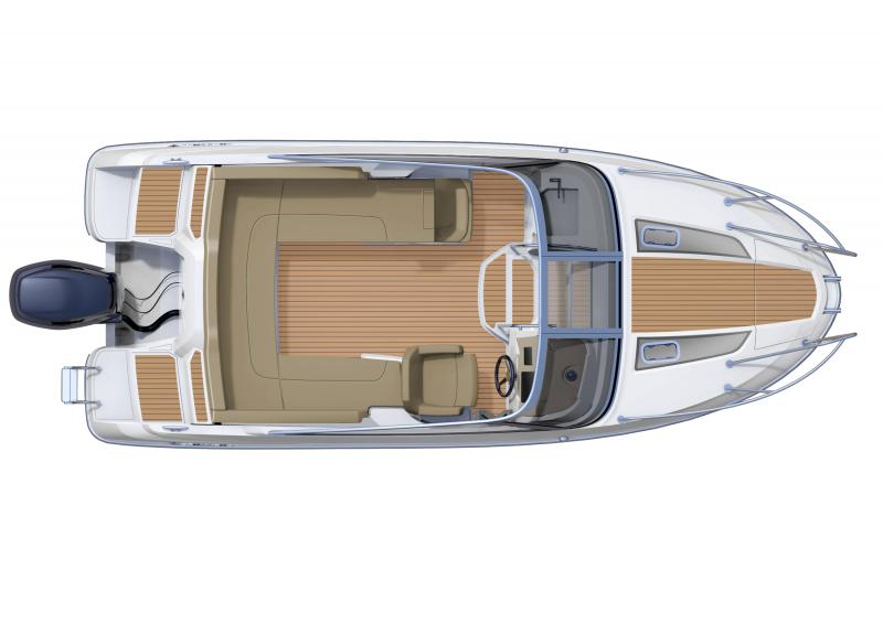 Cap Camarat 6.5 DC │ Cap Camarat Day Cruiser of 6m │ Boat powerboat Jeanneau barco plans 367