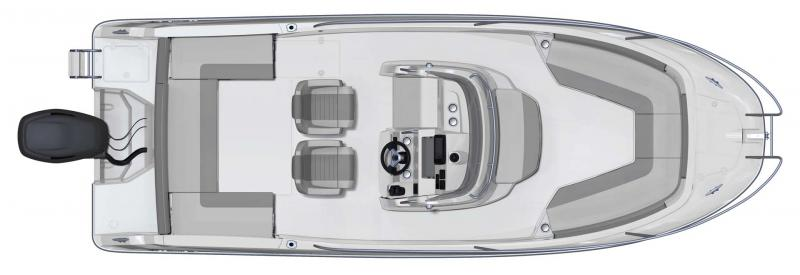 Cap Camarat 7.5 CC │ Cap Camarat Center Console of 7m │ Boat powerboat Jeanneau  11120