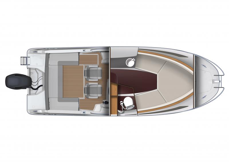 Cap Camarat 7.5 WA │ Cap Camarat Walk Around of 7m │ Boat Outboard Jeanneau boat plans 1768