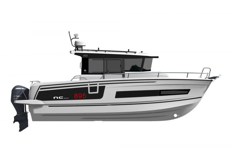 NC 895 Sport │ NC Sport of 9m │ Boat powerboat Jeanneau  21465