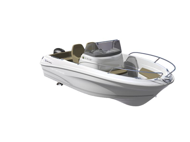 Cap Camarat 5.5 CC │ Cap Camarat Center Console of 5m │ Boat powerboat Jeanneau boat plans 630