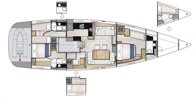 Jeanneau Yachts 65 │ Jeanneau Yachts of 21m │ Boat Sailboat Jeanneau  22964