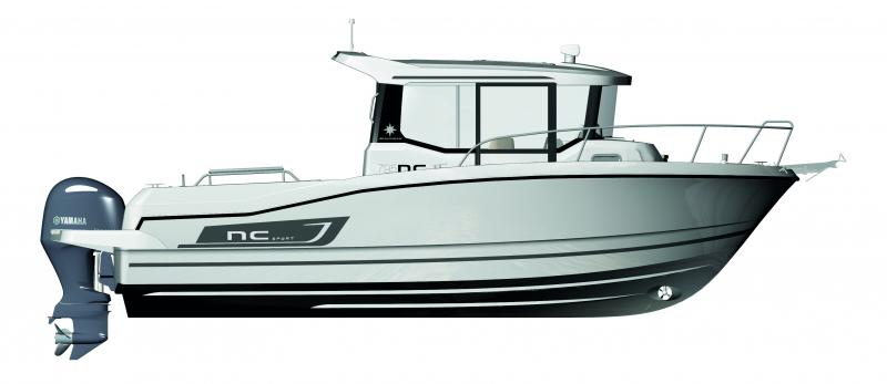 NC 795 Sport │ NC Sport of 8m │ Boat powerboat Jeanneau  4681