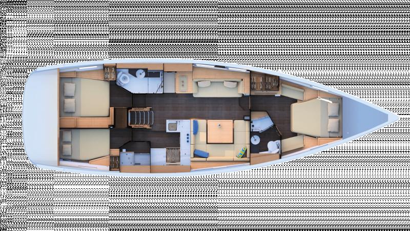 Jeanneau 51 │ Jeanneau Yachts of 15m │ Boat Sailboat Jeanneau  17455