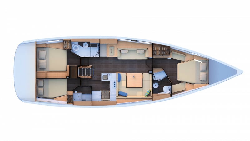 Jeanneau Yachts 51 │ Jeanneau Yachts of 15m │ Boat Sailboat Jeanneau  17455