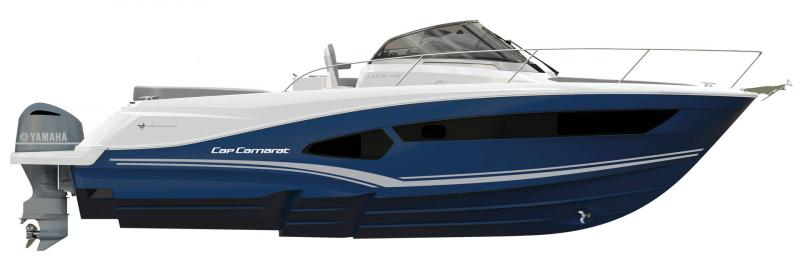 Cap Camarat 10.5 WA │ Cap Camarat Walk Around of 11m │ Boat Outboard Jeanneau  17099
