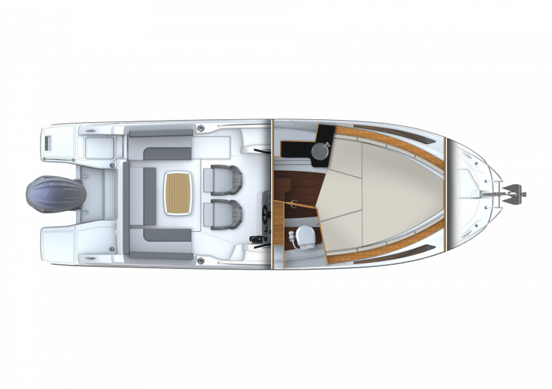 Leader 7.5 Series 3 │ Leader of 7m │ Boat powerboat Jeanneau  23144
