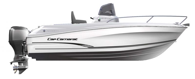 Cap Camarat 5.5 CC │ Cap Camarat Center Console of 5m │ Boat powerboat Jeanneau  10961