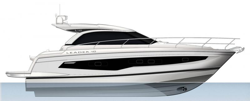 Leader 40 │ Leader of 12m │ Boat powerboat Jeanneau  22140