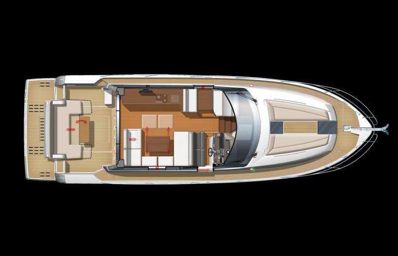 NC 14 │ NC of 14m │ Boat powerboat Jeanneau barco plans 638