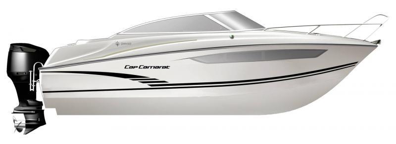 Cap Camarat 7.5 DC │ Cap Camarat Day Cruiser of 7m │ Boat Außenbord Jeanneau  17248