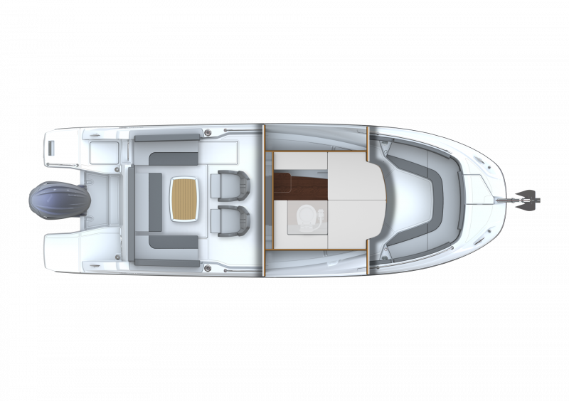 Leader 7.5 CC Series 3 │ Leader CC of 7m │ Boat powerboat Jeanneau  23101