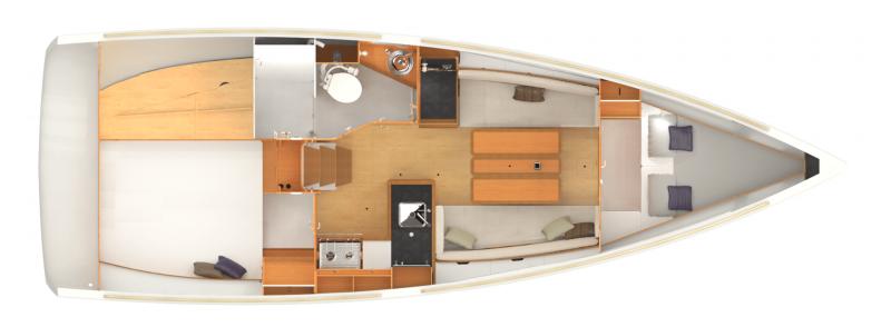 Sun Odyssey 349 │ Sun Odyssey of 10m │ Boat Sailboat Jeanneau  19205
