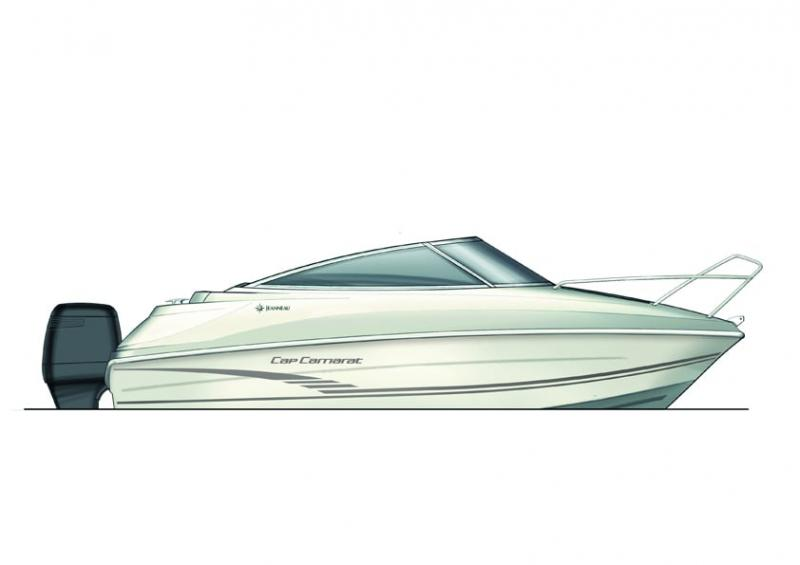 Cap Camarat 5.5 DC │ Cap Camarat Day Cruiser of 5m │ Boat powerboat Jeanneau  6029