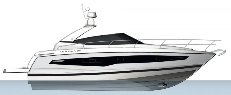 Leader 36 │ Leader of 12m │ Boat powerboat Jeanneau  18386
