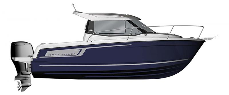 Merry Fisher 695 │ Merry Fisher of 7m │ Boat powerboat Jeanneau  10955