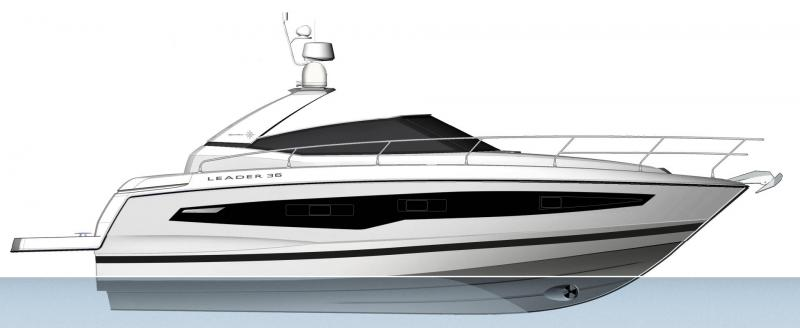 Leader 36 │ Leader of 12m │ Boat powerboat Jeanneau  22094