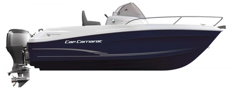 Cap Camarat 5.5 WA │ Cap Camarat Walk Around of 5m │ Boat Outboard Jeanneau  10983