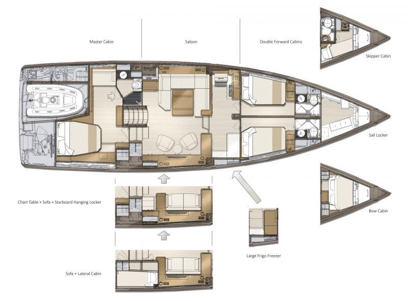 Jeanneau Yachts 60 │ Jeanneau Yachts of 18m │ Boat Sailboat Jeanneau  22487