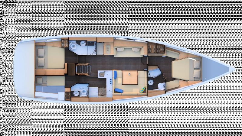 Jeanneau Yachts 51 │ Jeanneau Yachts de 15m │ Bateaux Voiliers Jeanneau  17458