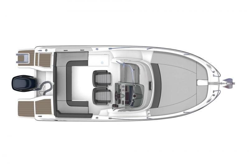 Cap Camarat 6.5 WA série3 │ Cap Camarat Walk Around of 6m │ Boat powerboat Jeanneau  17209